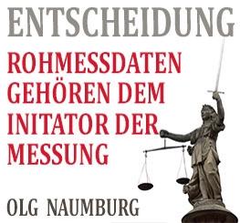 OLG Naumburg – Rohmessdaten